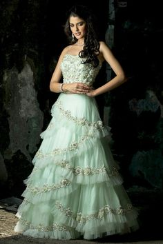 Buy beautiful Designer fully custom made bridal lehenga choli and party wear lehenga choli on Beautiful Latest Designs available in all comfortable price range.Buy Designer Collection Online : Call/ WhatsApp us on : Indian Wedding Gowns, Party Wear Indian Dresses, Designer Party Wear Dresses, Indian Gowns Dresses, Party Wear Lehenga, Indian Designer Outfits, Punjabi Wedding, Indian Bridal, Wedding Dress