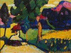 Wassily Kandinsky. Murnau - Summer Landscape, 1909
