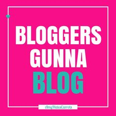 Bloggers gunna blog! Get a super handy blog post checklist [before & after clicking publish] here!