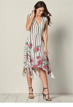 44bc265d7c96 Floral printed day dress - Miladies.net Spring Dresses