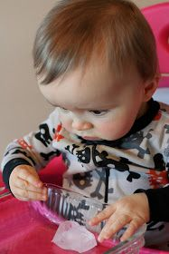 Super Easy Sensory Play: Ice and Warm Water