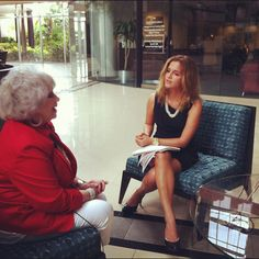 Tammy #interviewing chairman of the Republican National Assembly, Alci Maldonado! #lynndebate