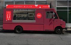 Perry Ellis Hot Cocoa truck