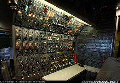 Flight Engineer Panel on Boeing 747-21AC/SCD