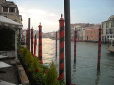 The Grand Canal, early morning.