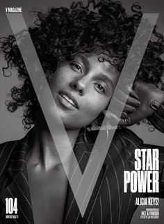 Alicia Keys in V Magazine US Winter 2016 issue