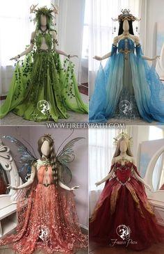 Fairytale Dress, Fairy Dress, Cosplay Dress, Cosplay Outfits, Old Fashion Dresses, Fashion Outfits, Pretty Dresses, Beautiful Dresses, Fantasy Gowns