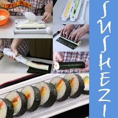 Make Favorite Sushi Rolls with The Sushi Bazooka