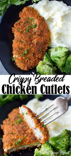 crispy chicken cutlets chicken recipes Crispy Breaded Chicken Cutlets-Butter Your Biscuit Chicken Cutlet Recipes, Cutlets Recipes, Turkey Cutlet Recipes, Crispy Chicken Recipes, Breaded Chicken Cutlets, Sandwiches, Cooking Recipes, Healthy Recipes, Easy Recipes