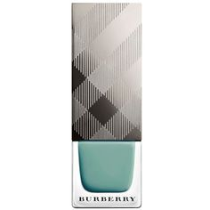 Burberry Nail Polish - Stone Green (4.210 RUB) ❤ liked on Polyvore featuring beauty products, nail care, nail polish, nails, makeup, accessories, cosmetics, shiny nail polish, burberry and formaldehyde free nail polish