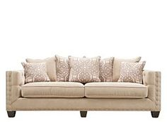 look no further than this attractive briarwood microfiber sofa in light taupe it will enrich your living room wu2026