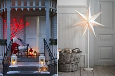 Creative Christmas Decorating Ideas for Inside and Outside : IKEA Christmas Collection Red Outdoor Lights