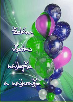 Želám všetko najlepšie a najkrajšie Congratulations