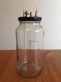 Homemade Lightbulb - This would make a cool science fair project.