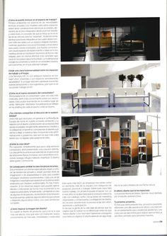Entrevista en la revista Casa Viva.