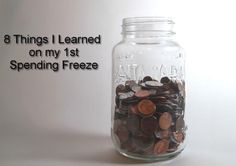 8 Things I Learned on my 1st Spending Freeze