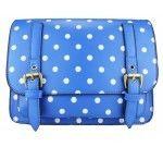 Little Wings Factory - Mini Polka Dot Satchel Blue, £24.00