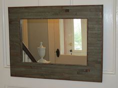 """really neat mirror. love that it was made from an """"1875 new england victorian"""" currently being restored."""