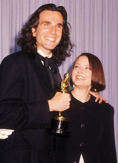 Daniel Day-Lewis and Jodie Foster