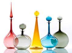 Joe Cariati Glass Decanters