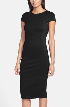 Accessorizing this LBD with a beautiful statement necklace and bold lip color.