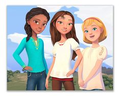 Gigi 2, Caballo Spirit, Spirit The Horse, Three Best Friends, Disney Fairies, 6th Birthday Parties, Chica Anime Manga, Birthday Party Invitations, Disney Movies