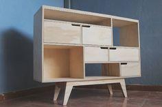 El mueble del Mauro. #mitaño #woodwork #woodworking #diseñochileno #chileandesign #plywood #plywoodfurniture #furniture #depto51