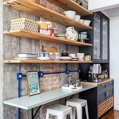 E o tanto que essa cozinha é MARA? ❤❤❤ ph: @historiasdecasa
