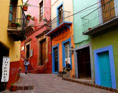 Colours in Mexico