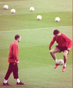 Rooney & Ronaldo
