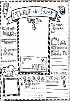 Myślenie wizualne Back To School Party, School Parties, Teacher Morale, Polish Language, Class Meetings, Teachers Corner, Its My Bday, Early Education, Educational Activities