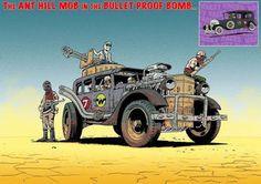 """Cars Classic and Racing team: """"Los autos locos"""" al mejor estilo Mad Max"""