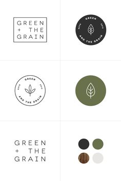 Green + The Grain Process | By Rowan Made