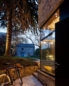 Conserved spaces contemporary ideas brick house addition in Dublin
