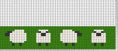 Tricksy Knitter Charts: Sheep by IntertidalGirl