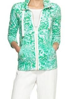 Lilly Pulitzer Resort '13- Leona Zip Up