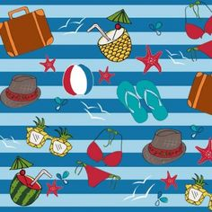 Camiuriko | Make It In Design | Surface Pattern Design | Summer School | Tropical Paradise