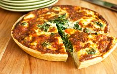 Clean Eating Brunch Idea - Chard and Bacon Quiche with Sweet Potato Crust