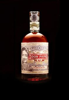 Don Papa Philippine Rum  #design #alcohol #packaging