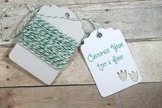 Dinosaur Party Tags Set of 20 - Custom Party Tags - Dino Feet Tags - Personalized Thank You Favor Tags - Green Tags - Kids Birthday Party by TheBabyShowerMedley on Etsy