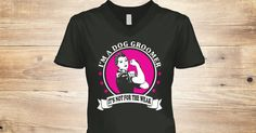 """Dog Groomer: T-Shirts and HoodiesCheck your size by clicking on""""Buy It Now"""".   100% Designed & Printed in the USA! SSL SAFE & SECURE CHECKOUT via    VISA 