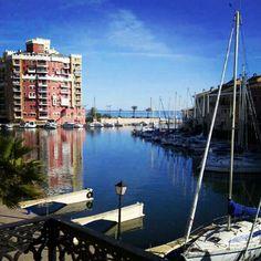 Port Saplaya en Alboraya, Valencia