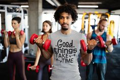 Old Tee Shirts, Long Sleeve Shirts, Time T, Have Time, Kelly Green, Weightlifting Gym, Funny Gym Shirts, Good Things Take Time, Gym Training