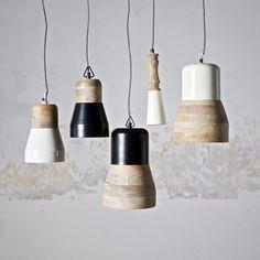 LED Lampe Hngeleuchte Holz Antik Balken Holzlampe Rustikal