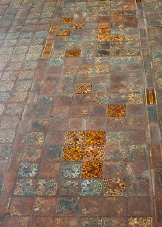 Westminster Abbey 2: Floor tiles in The Chapter House