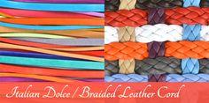 Antelope Beads- Soft Italian Flat Leather