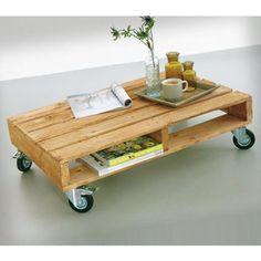 DIY: salontafel van pallets - Roomed | roomed.nl