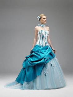 ... Robe de mariée colorée on Pinterest  Robes, Mariage and Vera wang