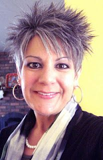 Short spikey hairstyles for women over 40 - Hairstyles 2019 Short Choppy Hair, Short Grey Hair, Short Hair Cuts, Short Hair Styles, Short Hairstyles Over 50, Medium Hairstyles, Hairstyles Haircuts, Hair Styles For Women Over 50, Pixie Haircut