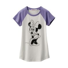 DISNEY PROJ Graphic Raglan Short Sleeve T Shirt(Minnie)B